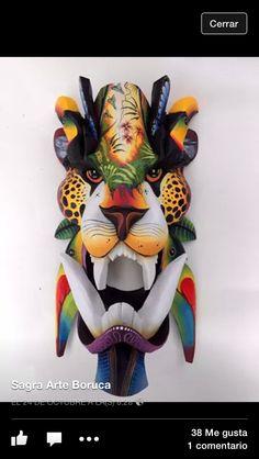 Boruca Mask