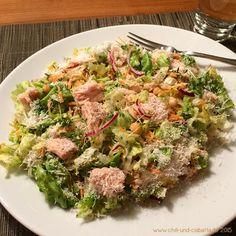 Thunfisch-Salat mit Parmesan