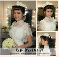 用各種鮮花 及 玩味非常重的複古瀏海配Vintage gown 富有西方複古味道 用來拍攝 效果非常突出 ---- Shooting for Wedding Magazine婚禮 Makeup & Hair & Photo | Katie Woo MakeUp ----- 提供 新娘化妝/ 化妝髮型班/ 隱形眼線/ 植&電眼睫毛 服務; 歡迎查詢 --  Wtsapp: 852 5417 1555   Email: ktwmua@gmail.com  Facebook: www.facebook.com/katiewoomua  Website: http://ktwmua.wix.com/katiewoomakeup --- #prewedding #weddingday #mua #hkmua #bride #bridal #bigday #結婚 #新娘化妝 #化妝 #髮型 #新娘髮型 #新娘造型 #姊妹化妝 #makeup #隱形眼線