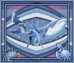 By The Sea Tag Killer Whales, Paint Shop, Shark, Psp, Artwork, Backgrounds, Tutorials, Painting, Graphics