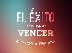 El Éxito!!! #1001consejos #motivación #frases #happy