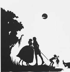 Kara Walker - the black on white is very effective, shapes are smooth and unbroken, amazing intricate detail such as on the moon