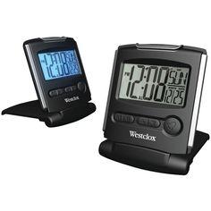 Westclox Fold-up Travel Alarm Clock