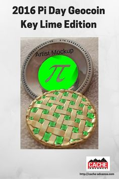 Your classic Key Lime Pie with a twist! 3D Nickel Pi tin, Key Lime ...