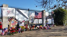 Be sure to visit the memorial site to the victims of the San Bernardino massacre at the corner of Orange show Road and Waterman