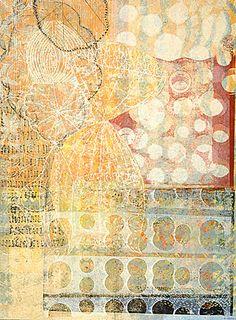 Eva Isaksen - printmaker - Works on Canvas