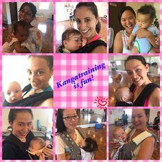 Happy mums and bubs post workout. Photo source: Kangatraining with Soraya.