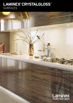 Another laminate kitchen from Laminex - don\'t like the high gloss ...