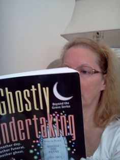 Teri is mesmerized by A Ghostly Undertaking!
