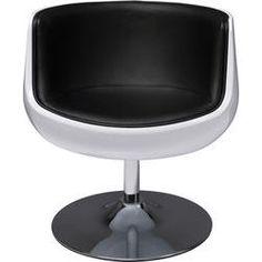 Swivel Chair Club 54 Black by KARE Design #swivel #chair #club #blacknwhite #KARE #KAREDesign