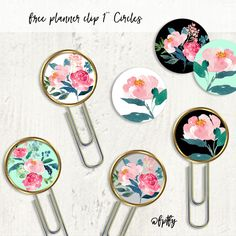 [wpdreams_rpp id=0]DIY Planner Clips: Hey Planner Chicks! Here are some more pretty 1 inch circles you could turn into planner clips or stickers!I created them in multi colors -for you to choose the perfect shade you would need! Remember 1 inch circles could be used in so many different ways!! You could even make beautiful …