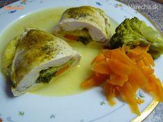 Plnené kuracie kapsy z parného hrnca (fotorecept) Meat, Chicken, Food, Meals, Yemek, Buffalo Chicken, Eten, Rooster