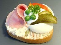 Obložené Chlebíčky (Czech finger food)