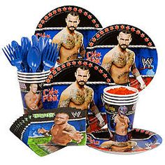 WWE Party Decorations, Supplies and Ideas | WholesalePartySupplies.com