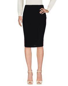 BETTY BLUE Women's Knee length skirt Black 8 US