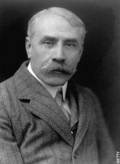 Sir Edward Elgar, great English composer.