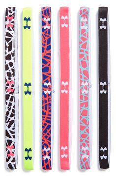 Under Armour Sport Headbands (6-Pack) Under Armour Sport 50e7a0727fc