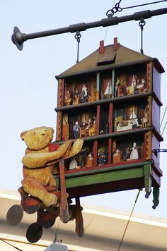 Schild des Puppenhausmuseums : Trade Sign of the Dollhouse Museum