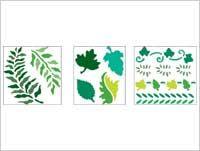 Simply ® Stencils - Value Packs - Fresh Foliage | Plaid Enterprises