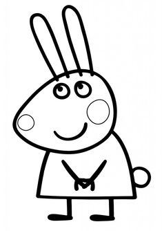 peppa pig Peppa Pig Coloring Pages Rebecca Rabbit From the thousand photos online in relation to peppa pig coloring pages rebecca rabbit , we all selects the best series together with great Peppa Pig Coloring Pages, Valentine Coloring Pages, Cat Coloring Page, Coloring Pages For Boys, Christmas Coloring Pages, Colouring Pages, Coloring Books, Jessica Rabbit, Rebecca Rabbit