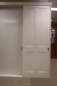 sliding white doors for wardrobe