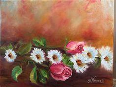 Rosie's Roses by Heidi Mansion Oil ~  x