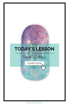 Hello Nail Pals,  Here's a sneak preview of what's going on inside of Nail Pals. A new lesson is launched every Monday, 9am Pacific Time.  Discover how to create a sweet galaxy #nailart design using pastel colors. Your clients and friends would most definitely be impressed with this nail art design!