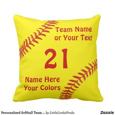 Personalized Softball Team Gifts
