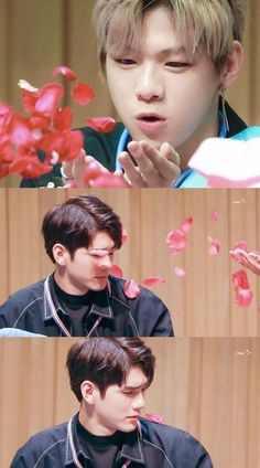 Is it Valentine for them 😶😶 K Pop, Ong Seung Woo, First Boyfriend, Daniel K, You Are My Life, Kpop Couples, My Big Love, Ha Sungwoon, Seong