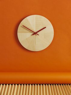 Sharing design, finding solutions to problems, interpreting behaviour, bringing discipline into everyday life. The beautifully designed PIECES OF TIME wall clock by product design as seen by Carl Kleiner. Orange Aesthetic, Rainbow Aesthetic, Orange Wallpaper, Orange Walls, Orange Rooms, Orange You Glad, Orange Crush, Orange Is The New Black, Happy Colors