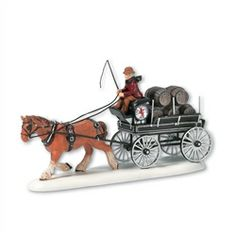 Department 56 Dickens Village Red Lion Pub Beer Wagon #hiddentreasuresdecorandmore