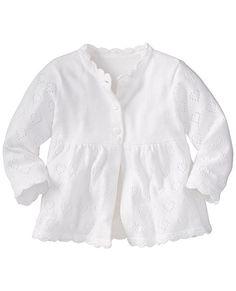 Sweet Cardigan In Organic Cotton from #HannaAndersson.