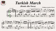 Turkish March (Rondo Alla Turca) Piano Sonata No. 11 K. 331 Movement 3  ...