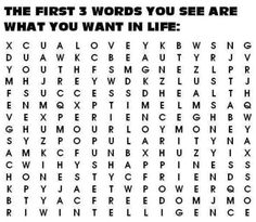 Pularity, love and fun What did you get. I got Love, Lust and Freedom