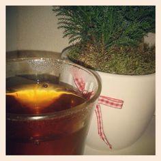 Dag197: granaatappel framboos thee