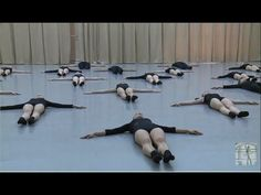 Vaganova Ballet Academy.  Stretching and flexibility. Contemporary Dance Exam. 5th class. - YouTube