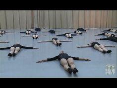 Vaganova Ballet Academy.  Stretching and flexibility. Contemporary Dance Exam. 5th class. - YouTube