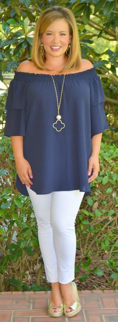 Out On The Waves Top - Perfectly Priscilla Boutique