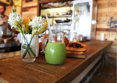 Green Smoothie at Porch and Parlour (Sydney, NSW). #smoothie #healthy