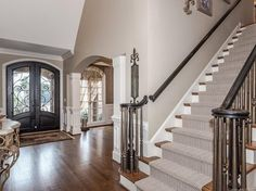 Stair ballustrades - 15708 Ballantyne Country Club Drive, Charlotte, NC 28277 - MLS 3255512 - Coldwell Banker