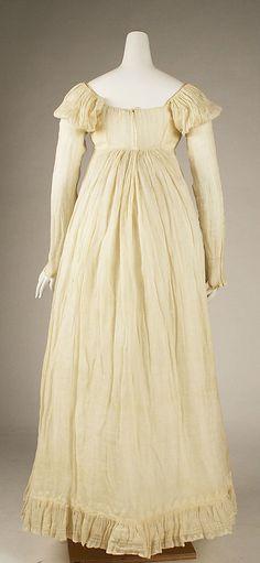 Dress, American, c.1814, Met Museum