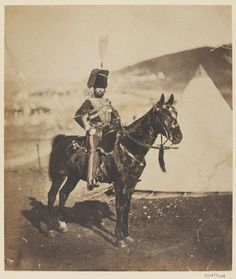 Cornet Wilkin, 11th (or Prince Albert's Own) Hussars, Crimea, 1855 (c)