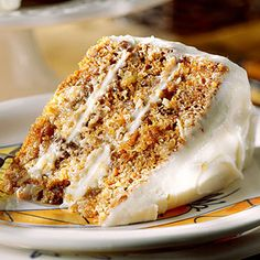 Southern Living (Original) Best Carrot Cake Recipe - We eat every Year For Easter ! Simply by adding a can of crushed pineapple with the luscious Buttermilk Glaze makes this truly the Best Carrot Cake !