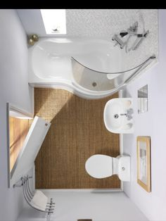 Neat small bathroom design