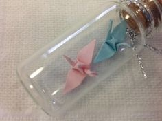 Origami Crane Favors - Baby Shower Ideas - Themes