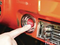 1968 Chevy C10 Push Button Ignition