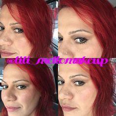 Make de hoje (ontem) Make de bunita!!!! Make de aniversariante  pele #kryolan #mac #makeupforever #smashbox #benefit #artdeco olhos #nudethebalm #nars #they'rereal #revlon batom #pausaparafeminices