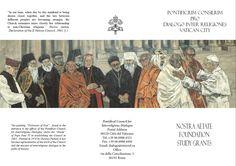 Opera Followers of God di Dolores Puthod 1978 cm. 400x300 - Vaticano Palazzo per il dialogo Interreligioso