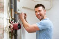 Furnace maintenance by professionals at Universal Plumbing and Heating in Vancouver. North London, West London, Furnace Maintenance, Heating Furnace, Common Myths, Heating And Cooling, Boiler, Heating Systems, Plumbing