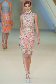spring 2013 ready-to-wear #runway Erdem